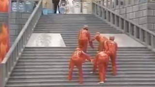 海外「史上最高のショーだ!」汗のマークの救助隊