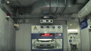 海外「まるで宇宙ステーション!」六本木ヒルズ機械式駐車場の日本の技術は他とは違う!