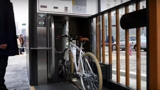 海外「世界的に検討するべき!」機械式自転車駐車場は、場所の有効活用、盗難防止に効果あり!