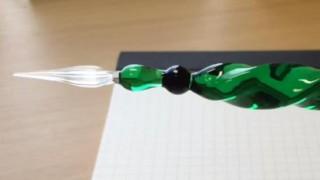 海外「ガラスだから繊細で美しい」ガラスペンに関心の声