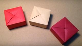 海外「簡単でかっこよくて、美しい!」折り紙ギフトボックス