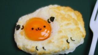 海外「話題のふわふわ目卵焼きをアレンジ!」とってもかわいい!エッグ・イン・クラウド