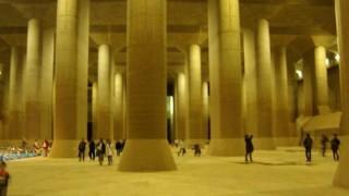海外「地下にある超巨大空間に驚愕!」首都圏外郭放水路