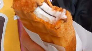 海外「日本の食が凄い!」あげアイスがすごく美味しそう!