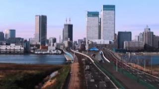 海外「朝日・夕日・夜景がとても綺麗!」東京のタイムラプスに感激!