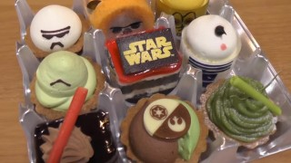 海外「日本はいいな!」可愛いスターウォーズケーキが美味しそう!