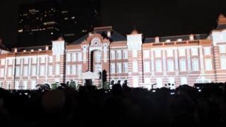 海外「見て納得!」東京駅プロジェクションマッピングが素敵!