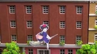 海外「精密でリアルな作り!」魔女の宅急便コリコの町作りに感動