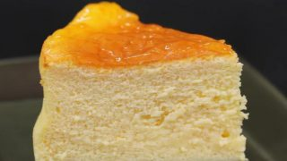 海外「完璧な仕上がり!」スフレチーズケーキの食感が堪らない