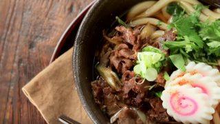 海外「一風変わった麺料理に挑戦!」肉うどんが美味しい