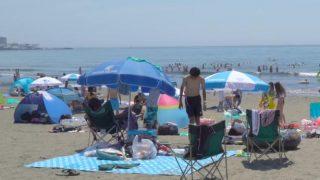 海外「海を見ながらの食事!」鎌倉ビーチを満喫