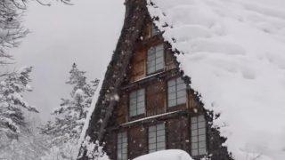 世界「本当の日本に出会える旅!」冬景色の白川郷・五箇山