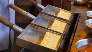 海外「食べてみたい!厚みのある卵焼きが5分で完成」玉子焼きを作る職人姿に感動