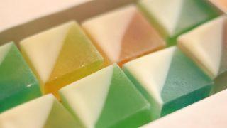 海外「砂糖と寒天で作る」宝石みたいな甘酸っぱい琥珀糖は透明でキレイ!