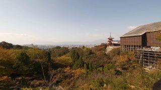 海外「大谷本廟から清水寺への抜け道」朝の京都市・清水寺周りの散歩コース