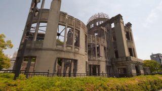 海外「原爆ドームからめぐる広島市街地」広島の昼散歩と城周りの景色に感動