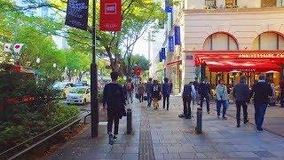 海外「おしゃれな人が集う秋の明治神宮周辺」休日の表参道を街ブラしてみた