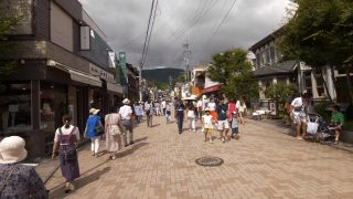 海外「長野の閑静な別荘地」軽井沢散歩がとってもリラックスできた!