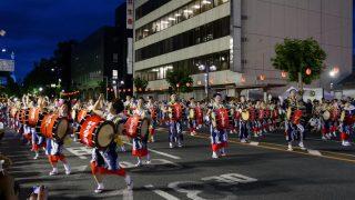 海外「岩手県盛岡で和太鼓の力強い演奏に感激」さんさ踊りは優雅できれいな祭