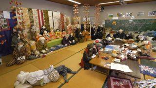 海外「徳島県三好市の素朴な景色」名頃地区・かかしの里を散策してみた