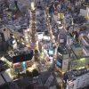 海外「229m渋谷スカイを体感」渋谷スクランブルスクエアの展望台の眺め