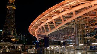 海外「栄で印象的な建物のライトアップ」名古屋の穴場で夜の散歩してみた