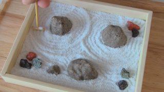 海外「大人向け再現キット」ラムネで作る日本庭園 お菓子の枯山水がリアル