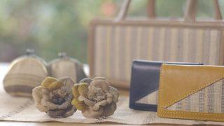 海外「思いが詰まった沖縄の織物」喜如嘉の芭蕉布・琉球藍が質素で素晴らしい