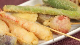 海外「大阪名物 サクサクの食感がおいしい日本料理」串カツの楽しい作り方