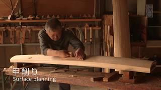 海外「広島 楽器で唯一の伝統工芸品」福山琴の美しい装飾と音色に感動!