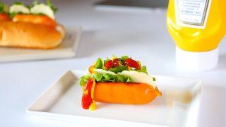 海外「ちっちゃくても美味しい!」なんちゃってホットドッグ・ソーセージの作り方