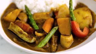 海外「肉なし野菜たっぷり!スパイス香る手作りルー」ベジタリアンカレーの作り方
