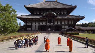 海外「古都に広がる公園と歴史的建造物」奈良の文化財と世界遺産を紹介