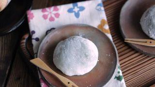 海外「抹茶あん大福と白あん抹茶大福がおいしい!」抹茶大福・2種の簡単な作り方