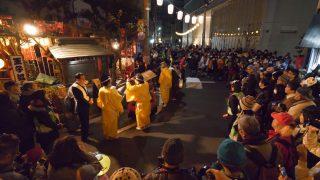 海外「王子駅周辺 一夜限定!独特の雰囲気のお祭り」王子狐の行列に行ってみた