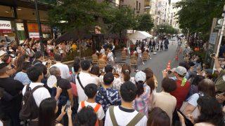 海外「東京銀座の夏 ゆかた姿で街ぶら」銀座ゆかた祭りに行ってみた