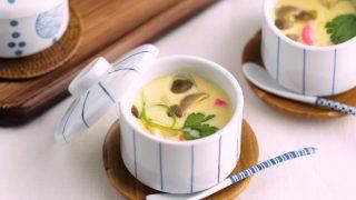 海外「簡単でおいしい!圧力鍋で作る日本料理のレシピ」茶碗蒸しの作り方