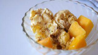 海外「材料を混ぜて冷やすだけ!」プリン味のカステラアイスクリームケーキ作り