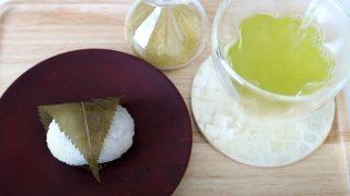 海外「桜の葉の塩漬けで作る道明寺餅・春の和菓子に挑戦!」関西風さくら餅作り