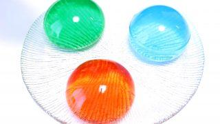 海外「かき氷シロップで3色・透明ゼリー」ぷよぷよみたいな簡単ゼリーの作り方